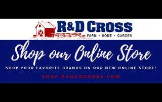R & D Cross logo