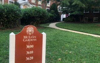 McLean Gardens entrance